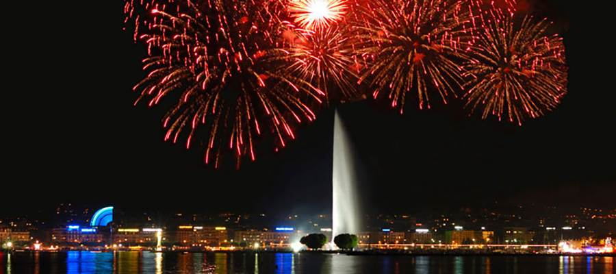 Geneva Festival and its big Fireworks